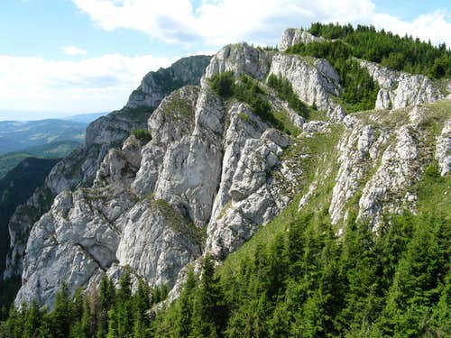 Crags of Big Haghimas