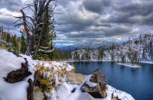 Winter at Casper Lake