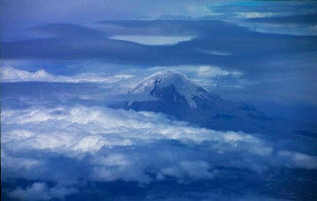 Chimborazo from air (looking...