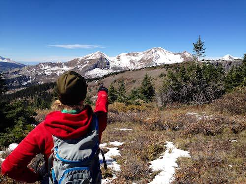 Mt. Owen in the Distance