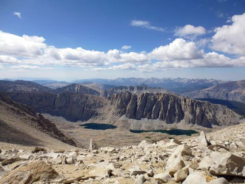 Mt Hitchcock from Mt Whitney