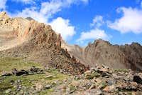 Mt Sneffels summit peeking over the top