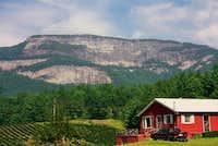 Whiteside Cliff as seen from...
