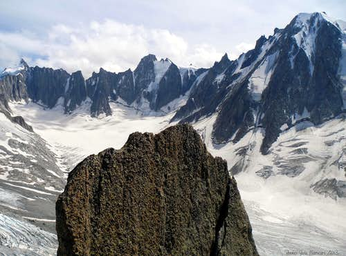The upper basin of Argentière