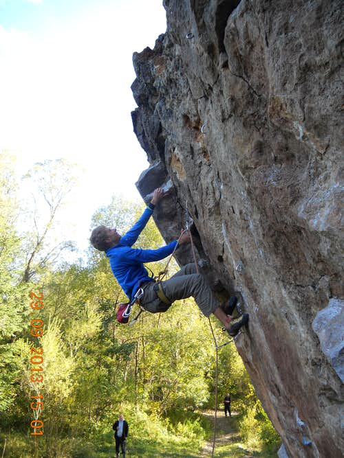 Sport climbing areas at the foot of the Tatras