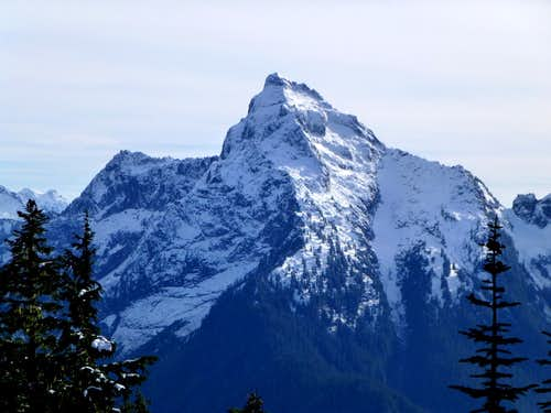 Mount Pugh from Rat Trap Mountain