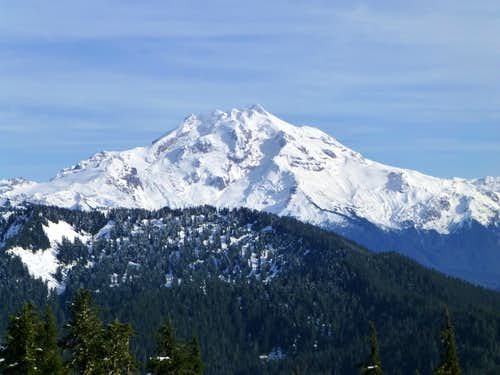 Glacier Peak from Rat Trap Mountain