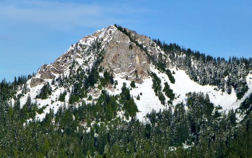 Circle Peak from Rat Trap Mountain