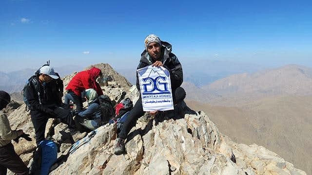 Mt. Azadkuh (4400m)