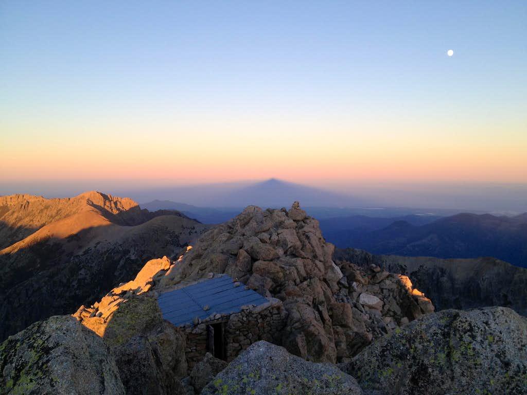 Sunset from Monte Rotondo