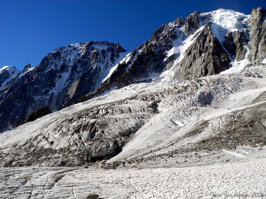 Junction between Rognons and Argentière glaciers