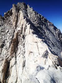 The East Ridge to East Summit