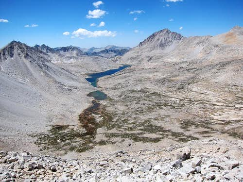 Lake Italy from Cox Col