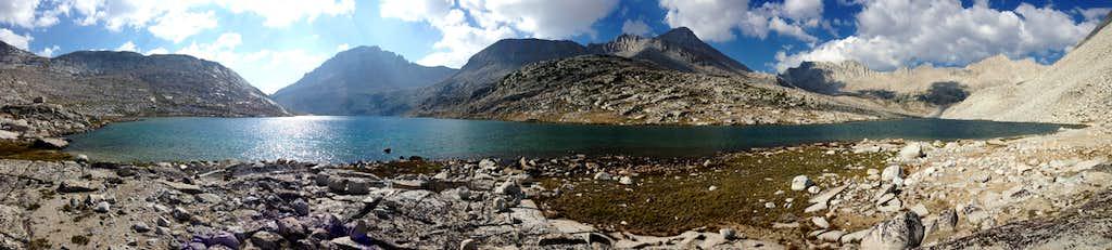 Panorama of Lake Italy
