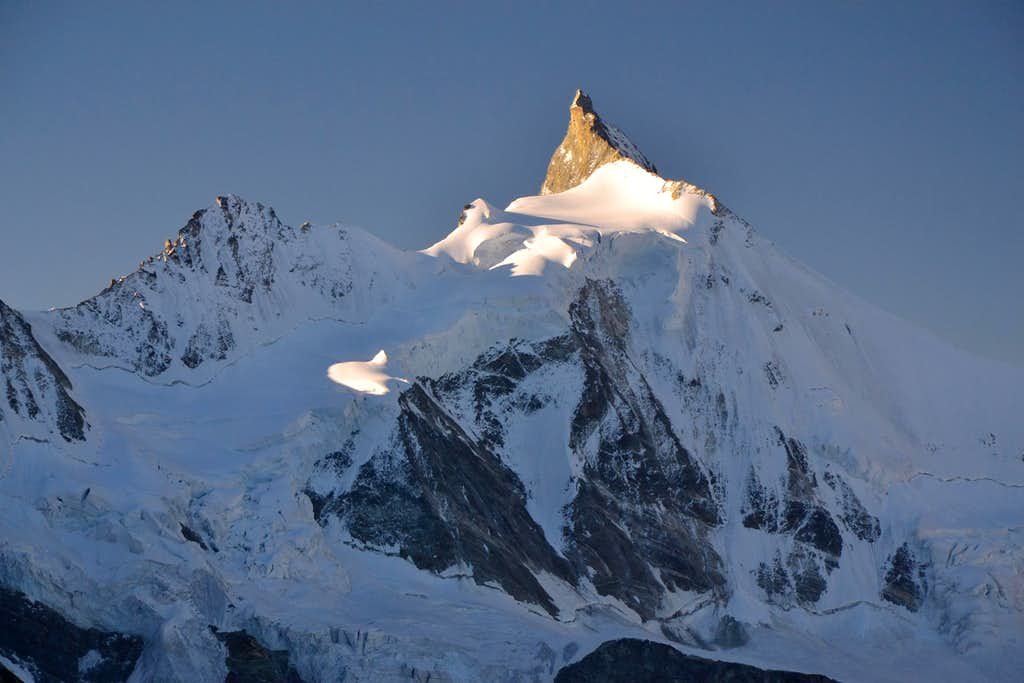 Early morning shot of Zinalrothorn