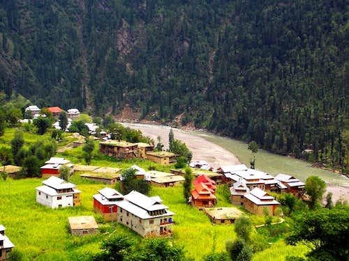 Kel, Neelam Valley, Pakistan