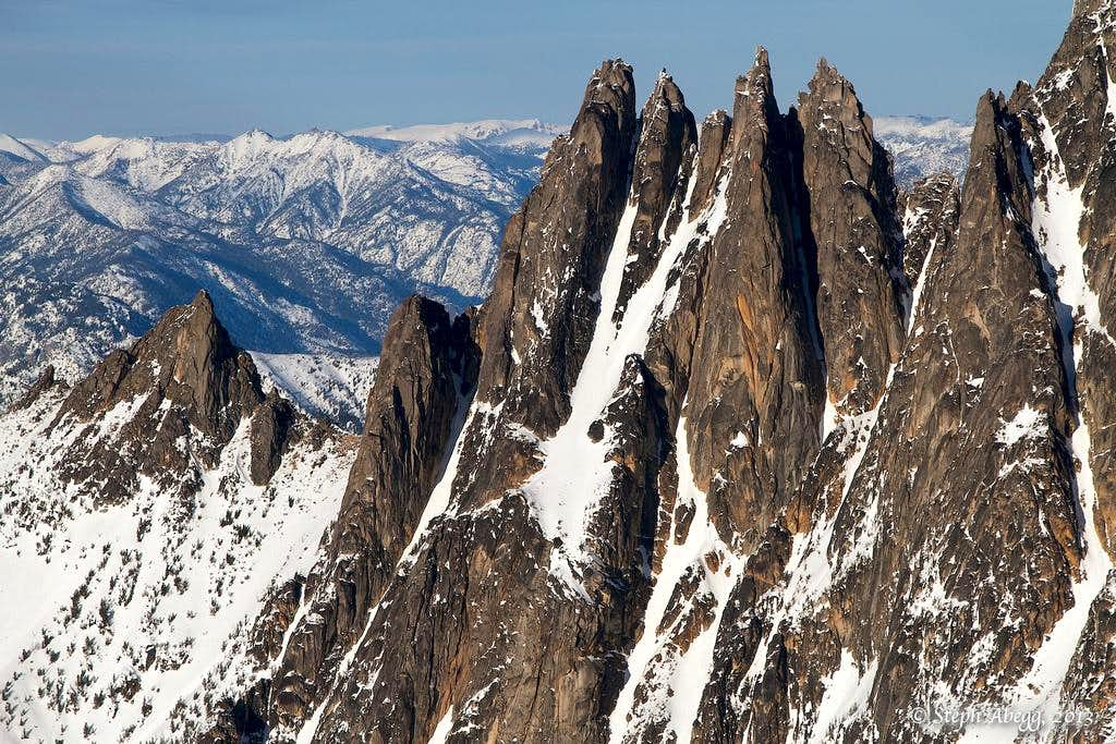 Wine Spires West Face