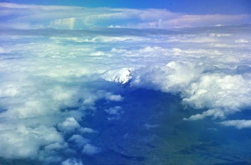 Cayambe from air (looking...