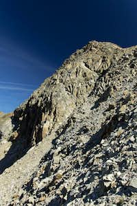 Piz Languard summit