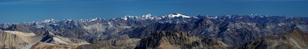 Panorama Ötztal Alps