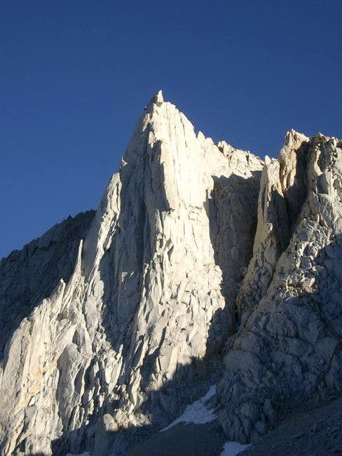 The north buttress of Merriam...