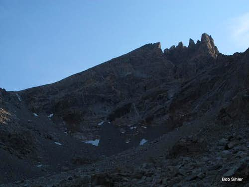 Dinwoody Peak from Titcomb Basin