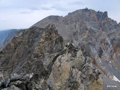 Dinwoody Peak, Miriam Peak, and the Second Highpoint of Bobs Towers