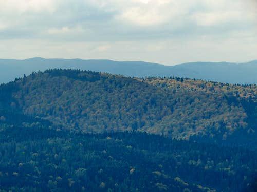 Over Binczarowa Vilage