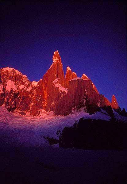 Cerro Torre 3128 m. Early...