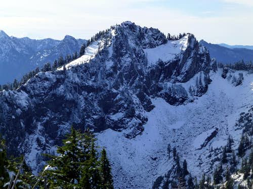 Independence Peak from Bluegrass Butte