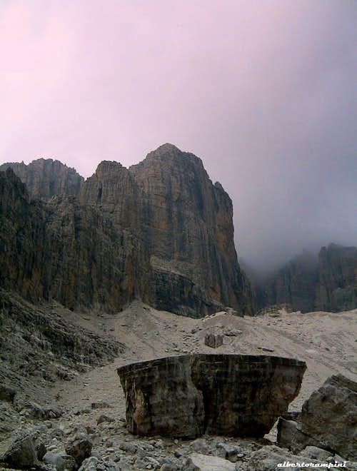 The majestic Cima d'Ambiez