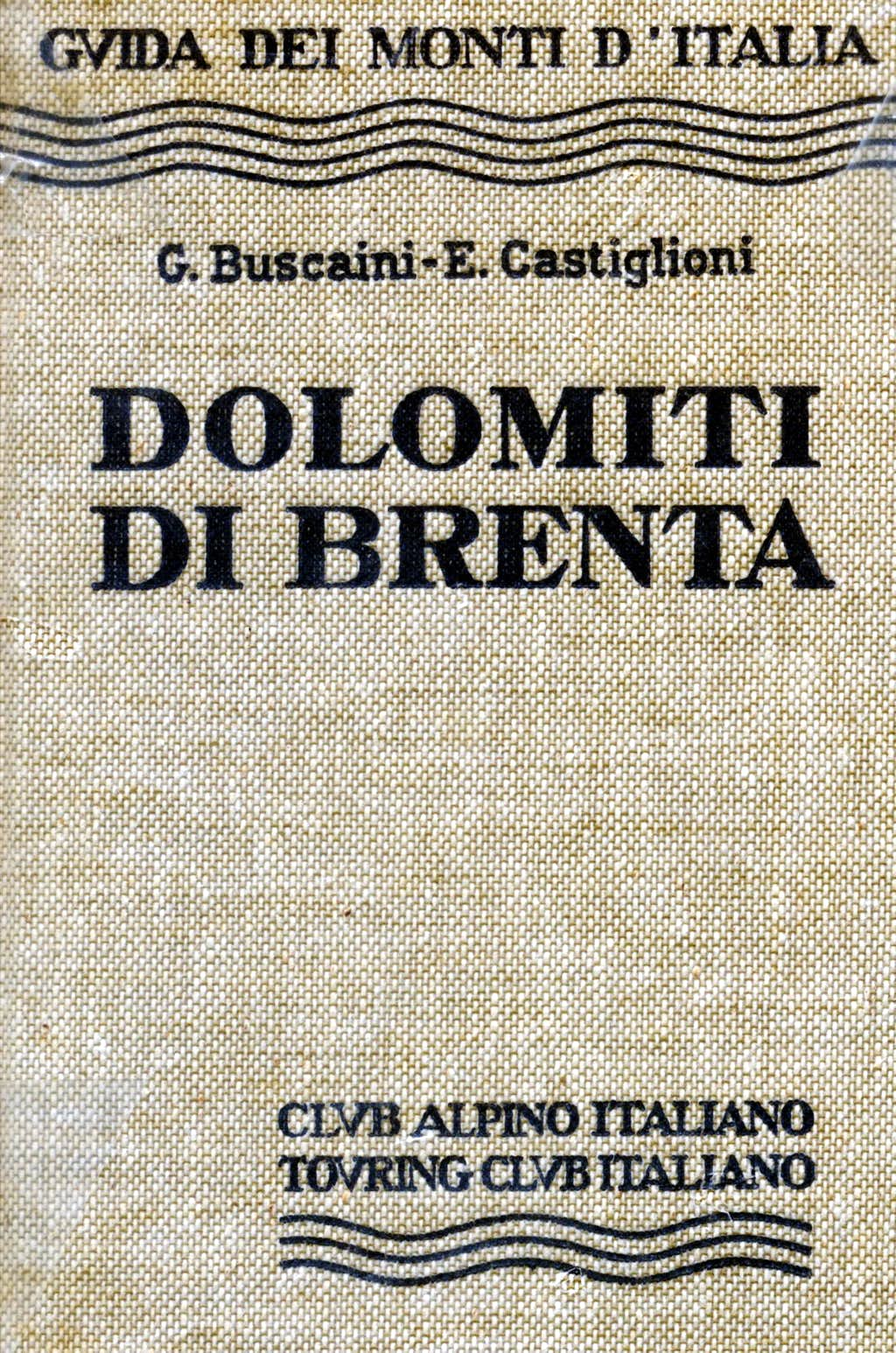 Brenta Dolomites guidebook