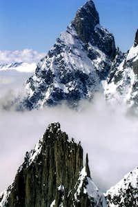MOUNT BLANC ... Aiguille Noire & Aig. of Brenva 2006