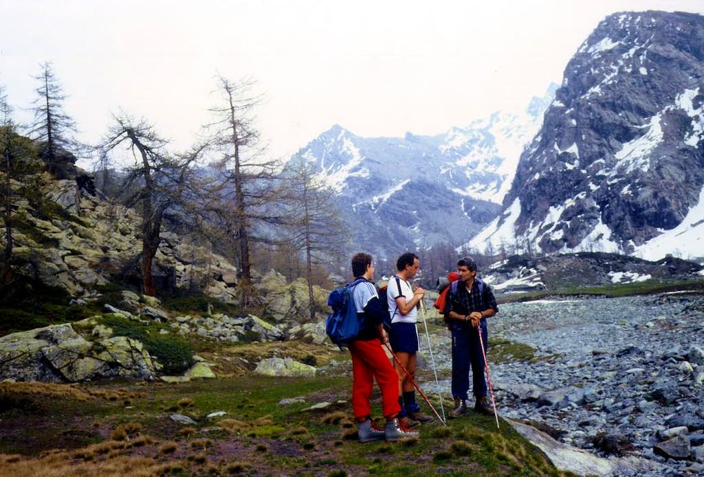 But that mountain is this? Pic Molère. No is Vòrea 1987