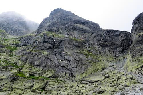 Into the wild route topo