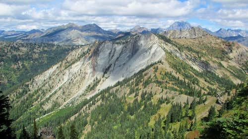 On the Ridge to Jolly Mountain