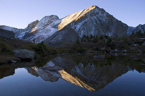 Kit Carson & Challenger Point Morning Reflection