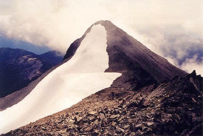 Mt. Rahm has two summit...