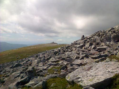 Carn nan Gabhar summit