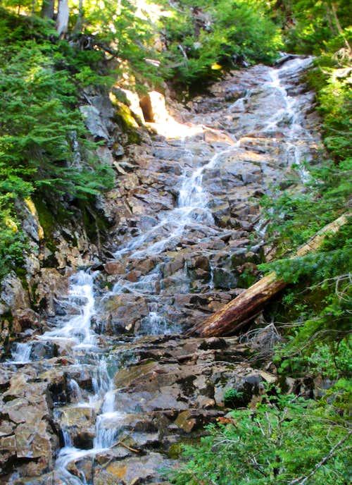Falls Below Park Lakes