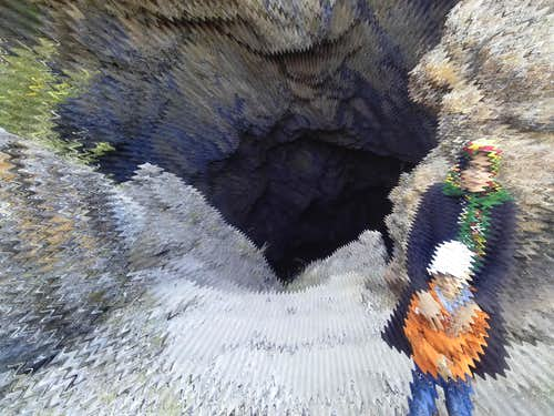 Mouth of the Cave (Outside)