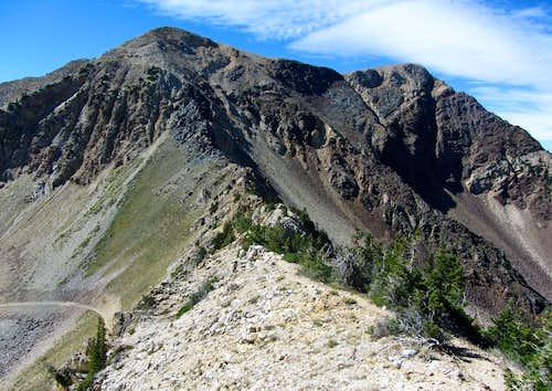 AF Twins NE Ridge Start