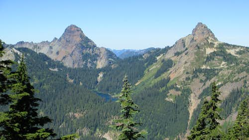 Mount Thomson and Huckleberry Mountain
