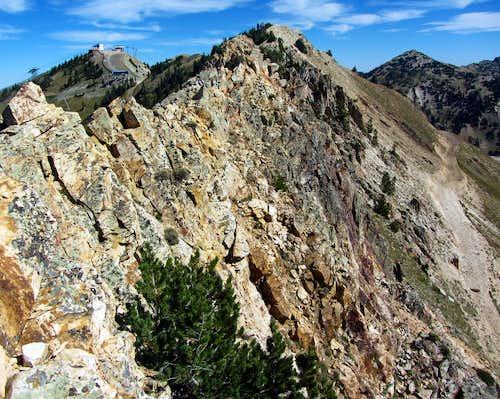 Steep NE Ridge