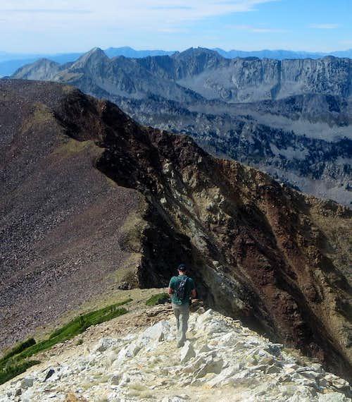 Ridge Walk to Red Top