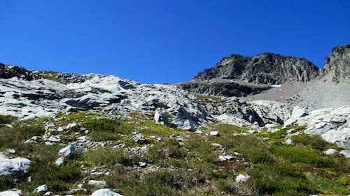 The Four Brothers/Chikamin Peak Saddle