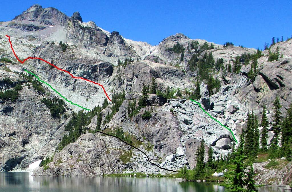 Glacier Lake Route