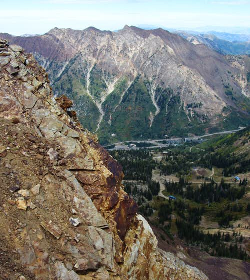 Mount Superior over Snowbird