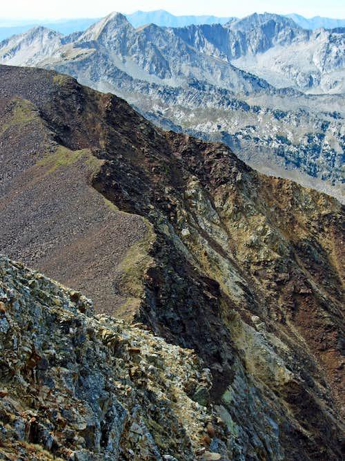 Ridge between AF Twins & Red Top