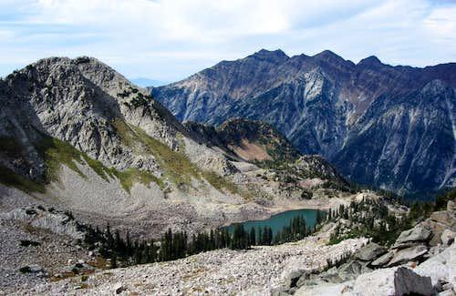 Thunder Mountain over White Pine